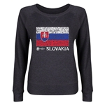 Slovakia Euro 2016 Junior Flag Pullover (Dark Grey)