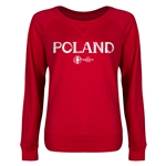 Poland Euro 2016 Junior Core Pullover (Red)