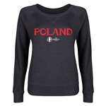 Poland Euro 2016 Junior Core Pullover (Dark Grey)