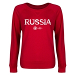 Russia Euro 2016 Junior Core Pullover (Red)