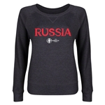 Russia Euro 2016 Junior Core Pullover (Dark Grey)