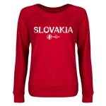 Slovakia Euro 2016 Junior Core Pullover (Red)