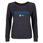 Slovakia Euro 2016 Junior Core Pullover (Dark Grey)