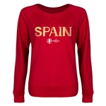 Spain Euro 2016 Junior Core Pullover (Red)