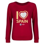 Spain Euro 2016 Junior Heart Pullover (Red)