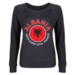 Albania Euro 2016 Junior Fashion Pullover (Dark Grey)