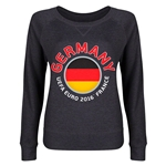 Germany Euro 2016 Junior Fashion Pullover (Dark Grey)