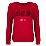 Germany Euro 2016 Junior Elements Pullover (Red)