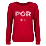 Portugal Euro 2016 Junior Elements Pullover (Red)