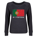 Portugal Euro 2016 Junior Flag Pullover (Dark Grey)