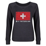 Switzerland Euro 2016 Junior Flag Pullover (Dark Grey)