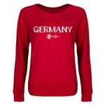 Germany Euro 2016 Junior Core Pullover (Red)