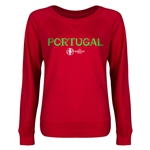 Portugal Euro 2016 Junior Core Pullover (Red)