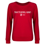 Switzerland Euro 2016 Junior Core Pullover (Red)