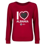 Albania Euro 2016 Junior Heart Pullover (Red)