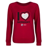 Germany Euro 2016 Junior Heart Pullover (Red)