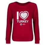 Turkey Euro 2016 Junior Heart Pullover (Red)