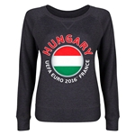 Hungary Euro 2016 Junior Fashion Pullover (Dark Grey)