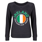 Ireland Euro 2016 Junior Fashion Pullover (Dark Grey)