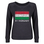 Hungary Euro 2016 Junior Flag Pullover (Dark Grey)