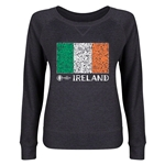 Ireland Euro 2016 Junior Flag Pullover (Dark Grey)