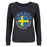 Sweden Euro 2016 Junior Fashion Pullover (Dark Grey)
