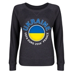 Ukraine Euro 2016 Junior Fashion Pullover (Dark Grey)