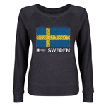 Sweden Euro 2016 Junior Flag Pullover (Dark Grey)