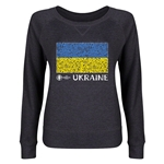 Ukraine Euro 2016 Junior Flag Pullover (Dark Grey)