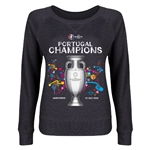 Portugal UEFA Euro 2016 Champions Junior Pullover (Dark Gray)