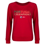 Portugal UEFA Euro 2016 Champions Junior Pullover (Red)