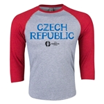 Czech Republic Euro 2016 3/4 Sleeve Core T-Shirt (Heather Red)