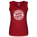 Bayern Munich Halftone Women's Tank Top (Red)