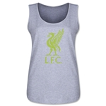 Liverpool Hi Vis Women's Scoopneck Tank Top (Gray)
