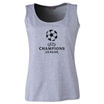 UEFA Champions League Women's Scoopneck Tank (Gray)