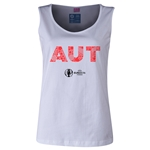Austria Euro 2016 Elements Women's Scoopneck Tank (White)