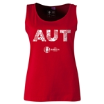 Austria Euro 2016 Elements Women's Scoopneck Tank (Red)
