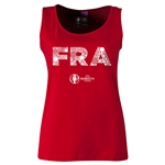 France Euro 2016 Elements Women's Scoopneck Tank (Red)