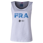 France Euro 2016 Elements Women's Scoopneck Tank (White)