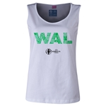 Wales Euro 2016 Elements Women's Scoopneck Tank (White)
