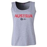 Austria Euro 2016 Women's Core Scoopneck Tank (Grey)
