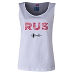 Russia Euro 2016 Women's Elements Scoopneck Tank (White)