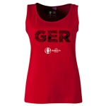 Germany Euro 2016 Women's Elements Scoopneck Tank (Red)