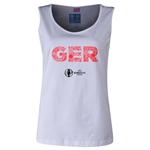 Germany Euro 2016 Women's Elements Scoopneck Tank (White)