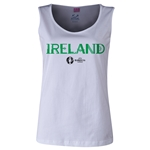 Ireland Euro 2016 Women's Core Scoopneck Tank (White)