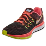 Nike Air Zoom Vomero Running Shoe (Hot Lava/Black/Volt/White)