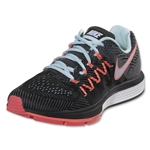 Nike Women's Air Zoom Vomero Women's Running Shoe (Ice/Black/Hot Lava/White)