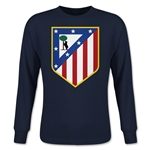 Atletico Madrid Core Youth LS T-Shirt (Navy)