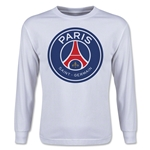 Paris Saint-Germain Youth LS T-Shirt (White)
