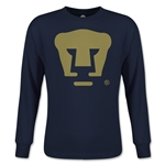 Pumas UNAM Core LS Youth T-Shirt (Navy)